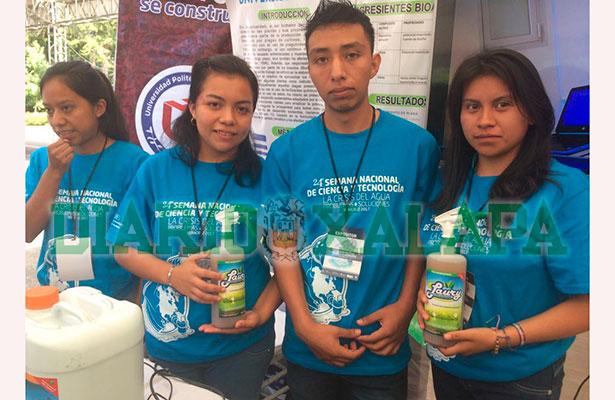 Estudiantes crean plaguicida orgánico para cuidar cultivos