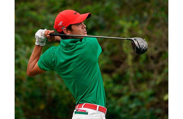 Ell golfista Raúl Pereda, con méritos suficientes para ser PED 2017