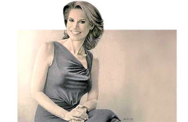 Vean mi trabajo, no al personaje, señala pintor de retrato de Karime Macías