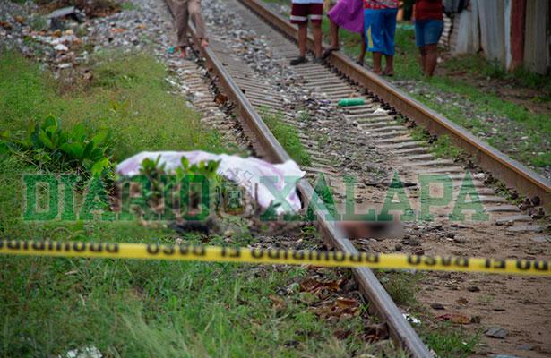 Hondureño muere aplastado por el tren