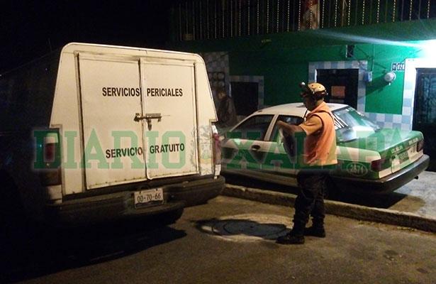 Cruel homicidio en la colonia Progreso en Xalapa