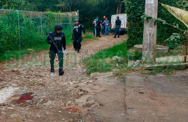 Ejecutan a dos jóvenes esta tarde en la colonia Álvaro Obregón, en Xalapa