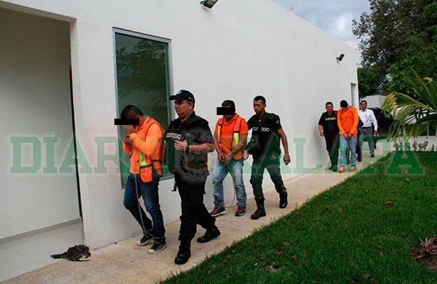 Decidirán si vinculan a proceso a 3 secuestradores de banda que operaba en Xalapa