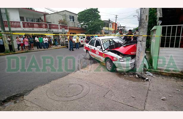 """Por una supuesta """"equivocación"""" ejecutan a taxista"""