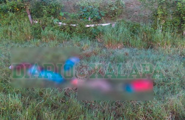Tiran 5 cuerpos a orilla de la autopista Tuxpan-Poza Rica