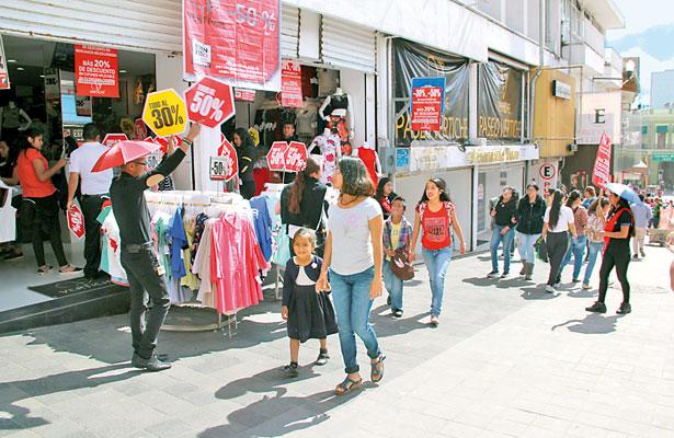 Hasta 50% menos ventas en comercios del centro de Xalapa: Canaco