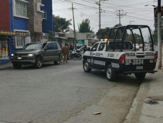 Atacan a policías estatales; un elemento resultó lesionado