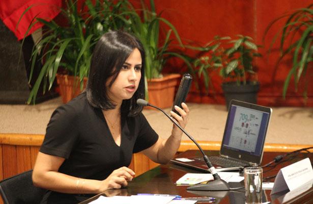 Para erradicar la pobreza en Veracruz se requieren $43 mil millones: Indira Rosales