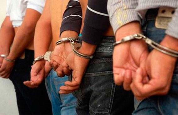 Capturan a 17 presuntos integrantes de bandas delincuenciales en la entidad