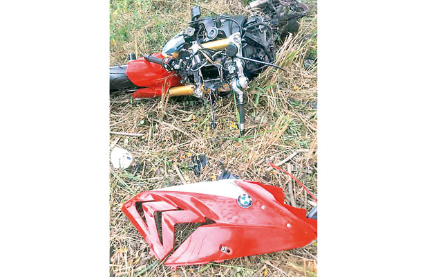 Tras accidente de motocicleta muere testigo en el casino Flavino Ríos