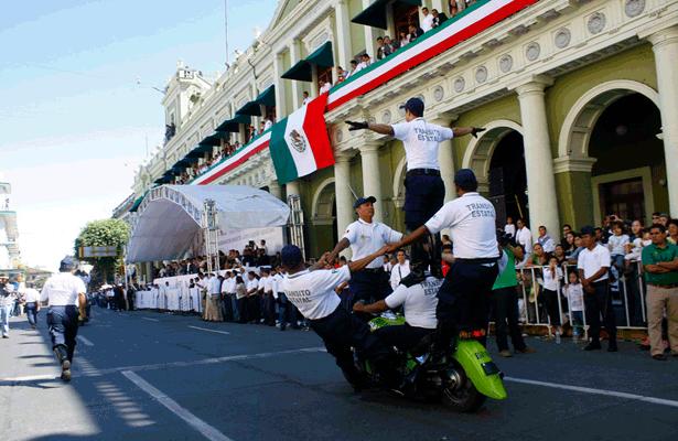Este lunes, desfile cívico-deportivo con motivo del 107 aniversario de la Revolución Mexicana