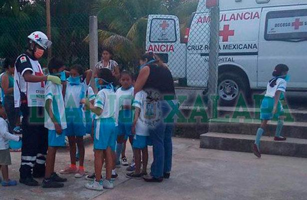 Desfogue en planta de Braskem Idesa provoca intoxicación de menores en escuela aledaña