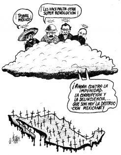 La contra Revolución Mexicana…