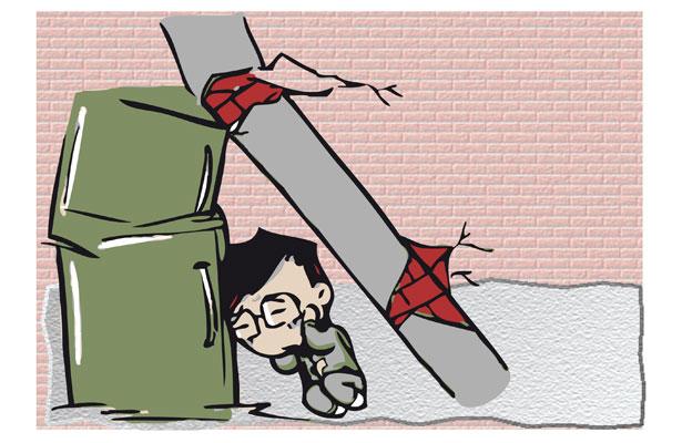 """""""No corro, no grito, no empujo…"""": xalapeños en caso de sismo"""