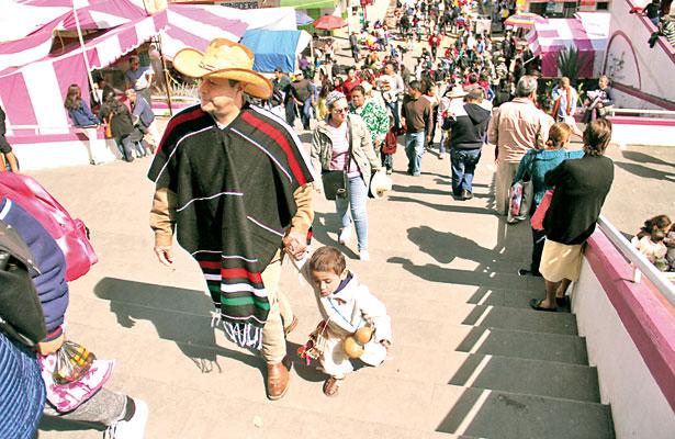 Sigue viva la tradición de la guadalupana con la fe de siempre