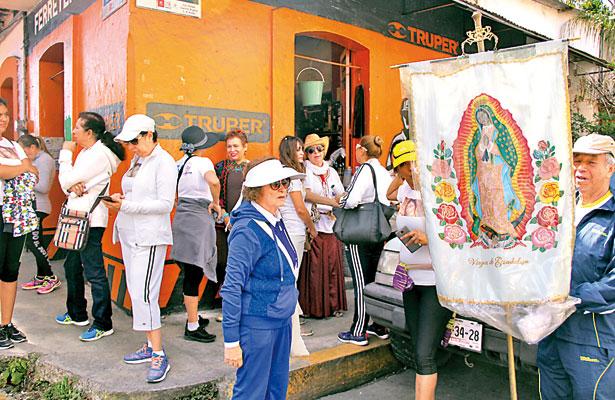2.5 millones de peregrinos arribarían a la Basílica de El Dique