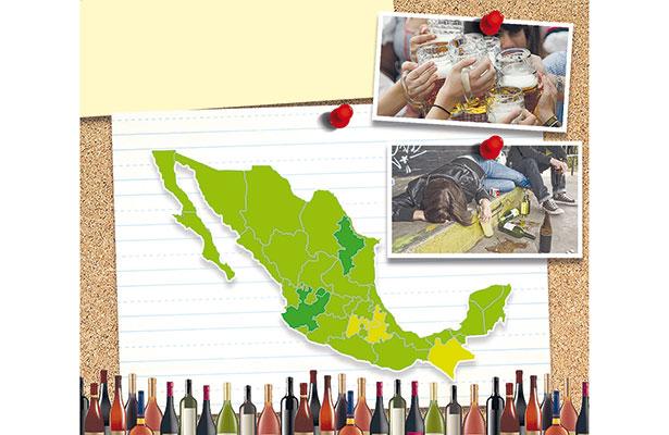 ¿Cuánto alcohol beben los mexicanos?; aumenta consumo entre jóvenes