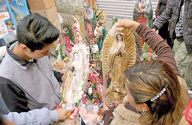 Seguridad y paz, piden fieles a la Virgen; fervor guadalupano sigue vigente