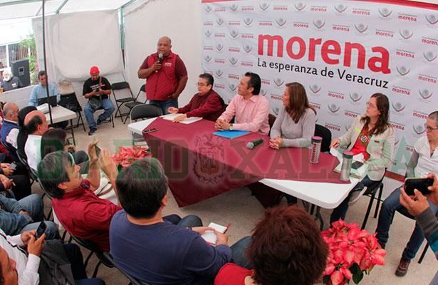 Morena evalúa el apoyo ciudadano en Xalapa y Coatepec