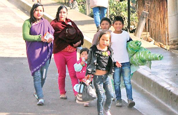 Xocotla, la comunidad en donde las familias tienen hasta ocho niños