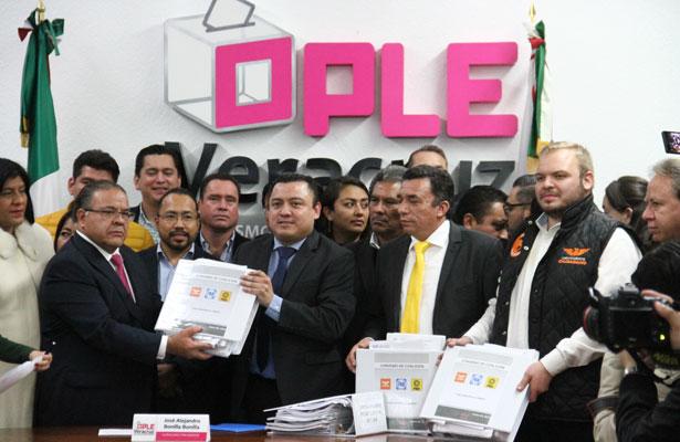 Movimiento Ciudadano da respaldo a Miguel Ángel Yunes Márquez