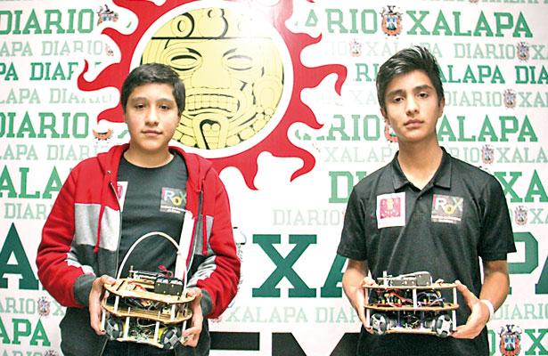 Jóvenes xalapeños van por Torneo Mexicano de Robótica