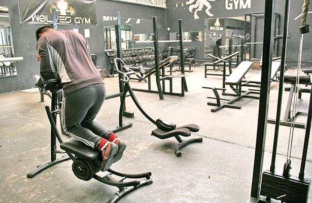 Bajar de peso ya no importa; gimnasios registran baja afluencia