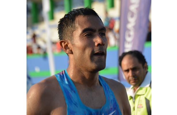 Juan Luis Barrios se agenció el primer lugar.