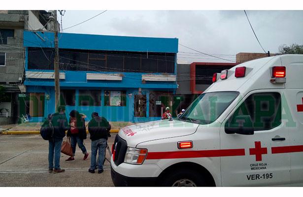 Evacuaron guardería tras conato de incendio