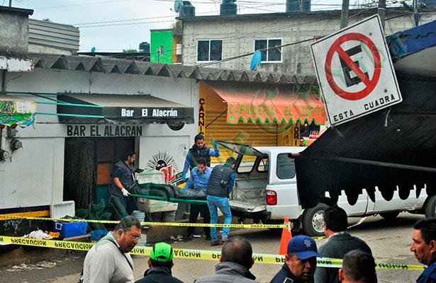 Ejecutan a balazos a vendedor; le dispararon directamente y escaparon