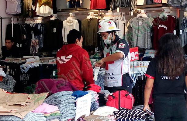 Lesionan a joven en asalto a tienda de ropa en pleno centro de la ciudad