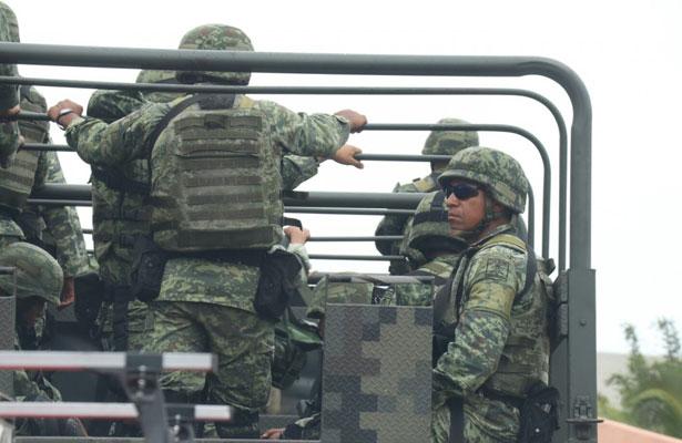 Arribarán más tropas militares a Xalapa para seguridad, anuncian