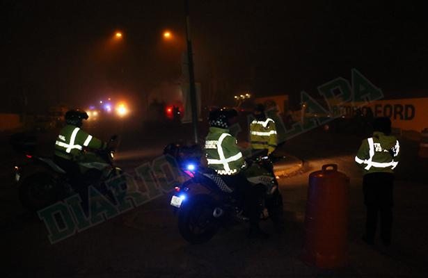 Se quitaron el frío… y 14 fueron detenidos en el operativo de alcoholímetro de Xalapa