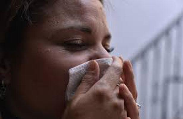 Muchos enfermos de gripa y apenas va la mitad de frentes fríos