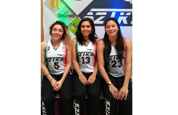 Tres xalapeñas jugarán basquetbol profesional
