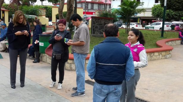 Se reúne Margarita Zavala con sus simpatizantes en Pánuco