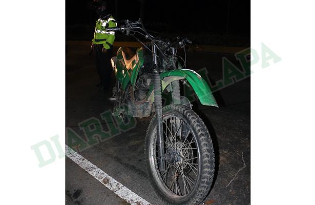 Motociclista se accidentó en Murillo Vidal