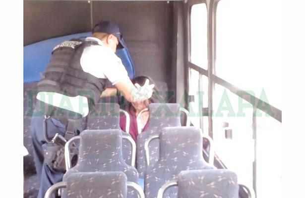 Seis pasajeros lesionados tras choque de autobuses en Las Trancas