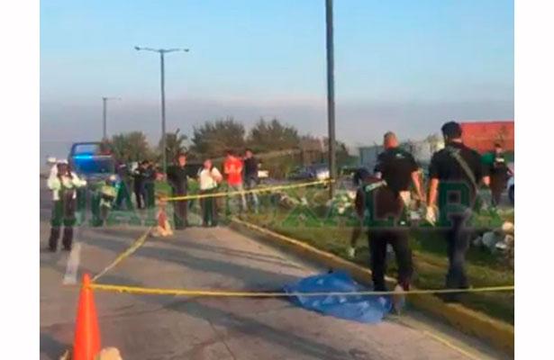 Muere mujer atropellada por auto en la entrada del Recinto Portuario