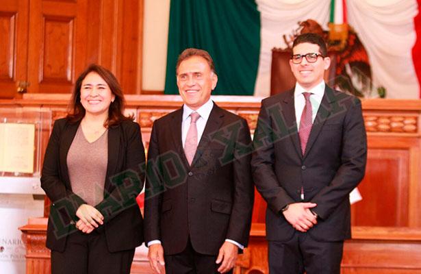 Nombra el gobernador a Yolanda Baizabal nueva secretaria de SIOP
