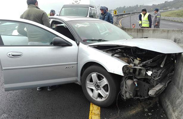 Familia se accidentó en la autopista Xalapa-Perote; ya no llegaron al puerto