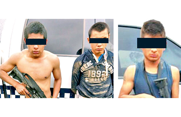 Los detenidos fueron puestos a disposición de la autoridad competente.