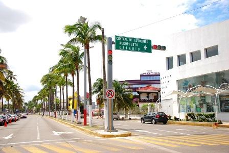 En espera de recursos para reparar semáforos: Tránsito de Veracruz
