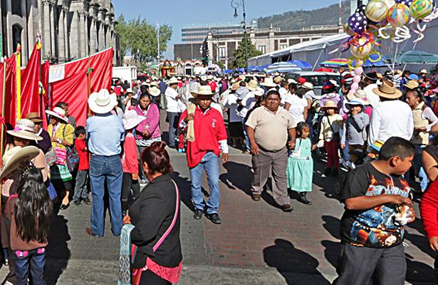 Peregrinación de Toluca parte hoy hacia la Basílica de Guadalupe