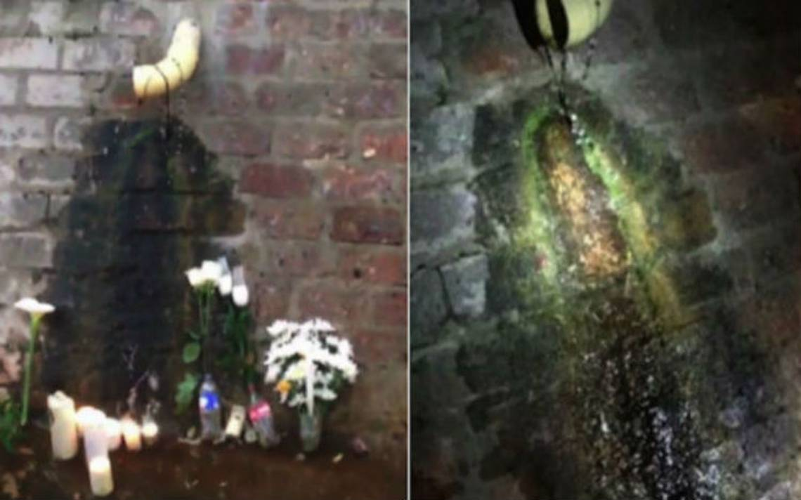 Veneran supuesta aparición de la Virgen de Guadalupe en un caño