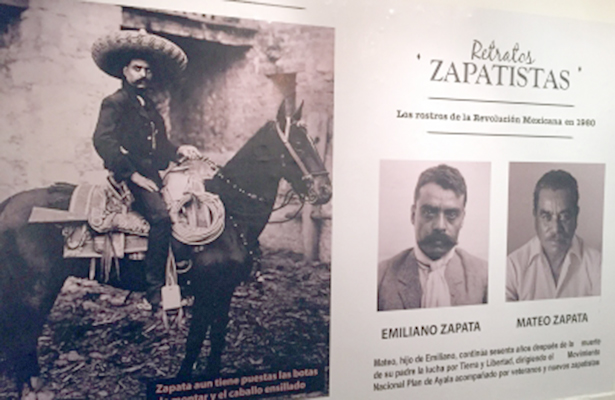 """César Lorenzano exhibe """"Retratos zapatistas"""" en Buenos Aires"""