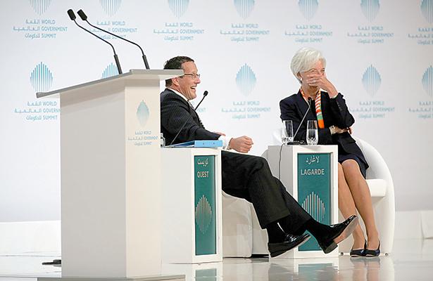 Trump es bueno para la economía de EU a corto plazo, dice Lagarde