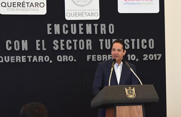 Avanza Querétaro en materia de turismo: Pancho Domínguez
