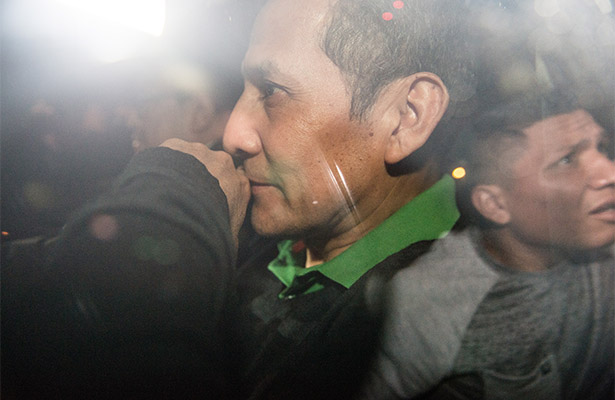 Humala va a la misma prisión en la que se encuentra Fujimori
