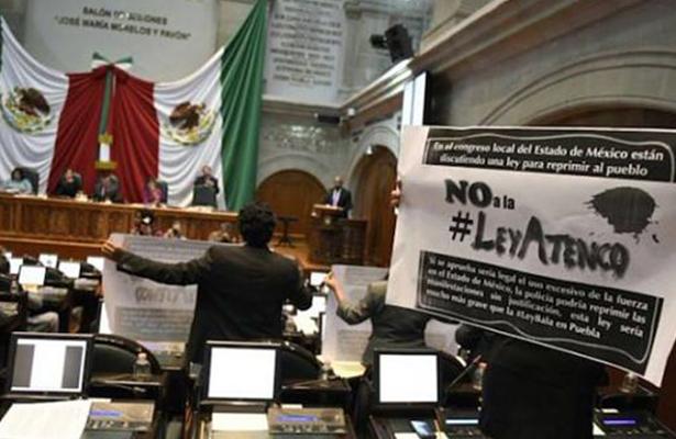 """Prevén diputados hacer ajustes a la """"Ley Atenco"""""""
